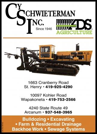 Bulldozing, Excavating, Drainage