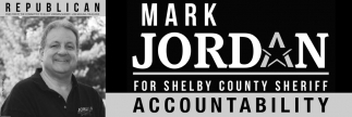 Mark Jordan for Shelby County Sheriff