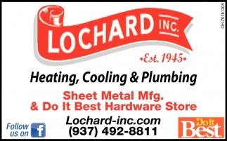 Heating, Cooling & Plumbing