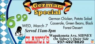German Special