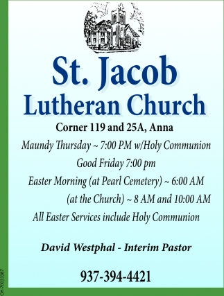 Dvid Westphal - Interim Pastor