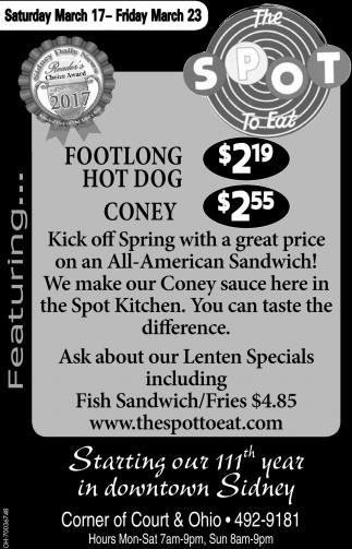 Flootlong Hot Dog