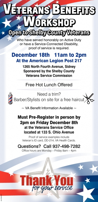 Veterans Benefit Workshop