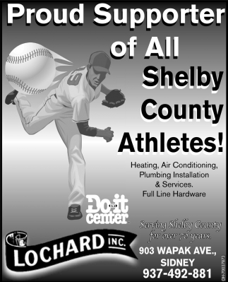 Proud Supporter of All Shelby County Athlets!