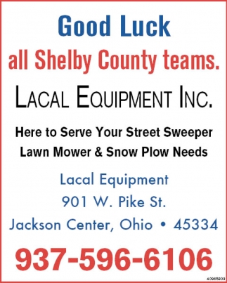 Good Luck all Shelby County teams