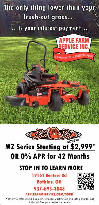 MZ Series Starting at $2,999*