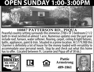 10887 Patterson RD,. Piqua