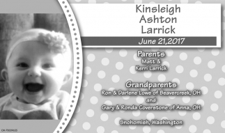 Kinsleigh Ashton Larrick