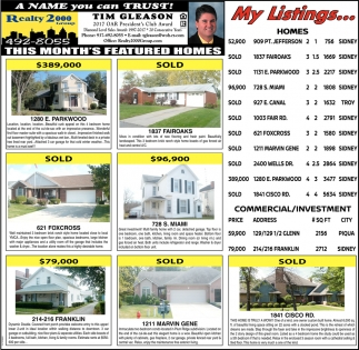 This Month's Featured Homes