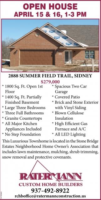 2888 Summer Field Trail, Sidney