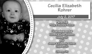 Cecilia Elizabeth Rohrer