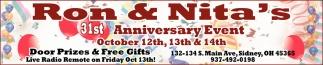 31st Anniversary Event