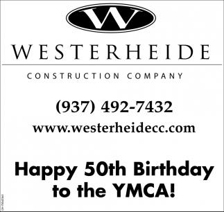 Happy 50th Birthday to the YMCA!