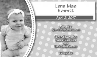 Lena Mae Everett