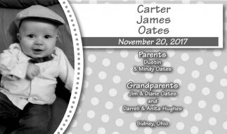 Carter James Oates