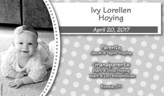 Ivy Lorellen Hoying