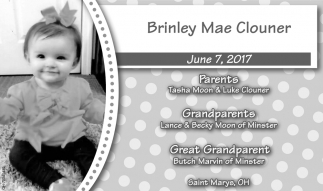 Brinley Mae Clouner