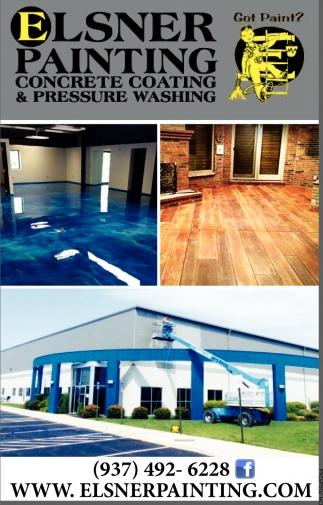 Concrete Coating & Pressure Washing