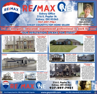 Shelby County's top home seller!