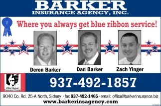 Where you always get blue ribbon service!