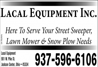 Here to serve your street sweeper, lawn mower & snow plow needs