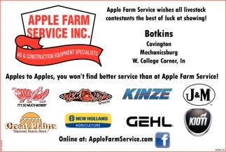 AG & Construction Equipment Specialists