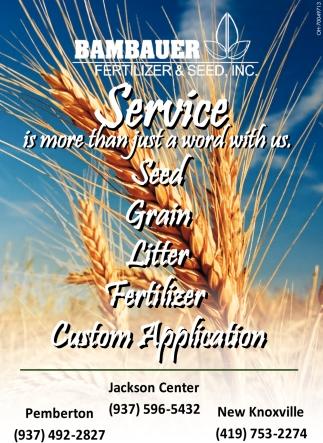 Seed, Graing, Litter, Fertilizer