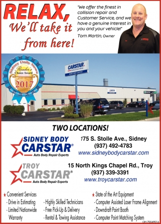 Collision Repair and Customer Service