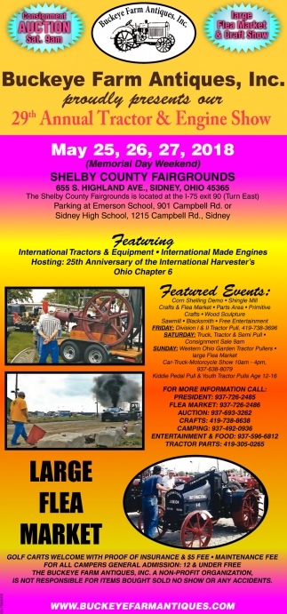 29th Annual Tractor & Engine Show