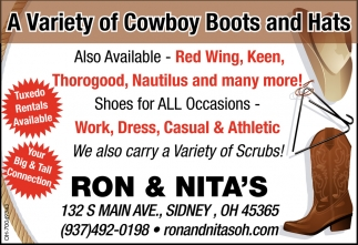 Cowboy Boots and Hats