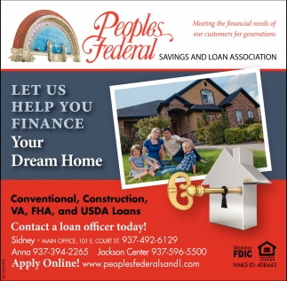 Conventional, Construction, VA, FHA, and USDA Loans