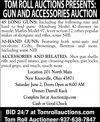 Gun and Accessorie Auction