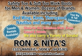 Work Boots for Men & Women